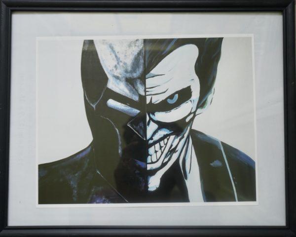 batman joker by vee