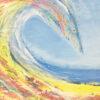 surf beach art