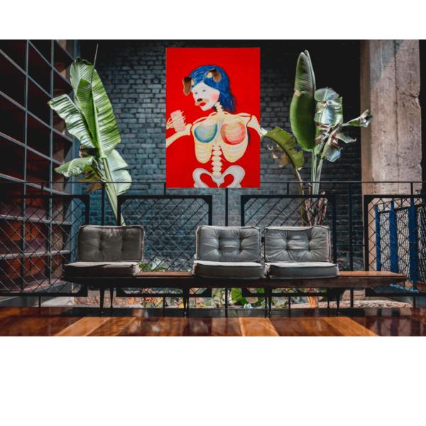 Nakedwalls art gallery technology